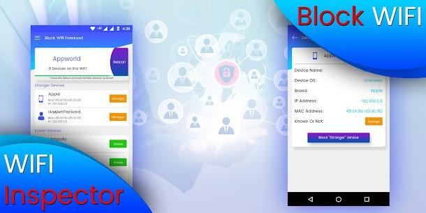 Block WiFi Apk – WiFi Inspector 1