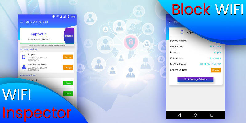 Block WiFi - WiFi Inspector APK Cracked Free Download