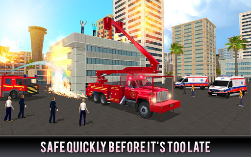 Firefighter Truck 911 Rescue: Emergency Driving 1.0.3 de.gamequotes.net 4