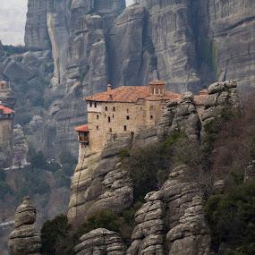 Meteora by Baggelis Karaliolios Zerofive - Buildings & Architecture Public & Historical