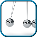 Newton's cradle antistress icon