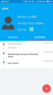 MemberShip Booklet - náhled