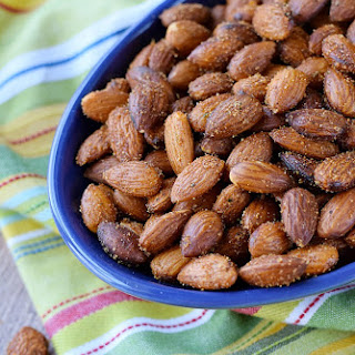 Sweet & Spicy Almonds.
