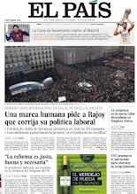 Photo: La primera gran movilización contra el PP tras los ajustes; limpieza étnica en la nueva Libia; La Copa de baloncesto vuelve al Madrid, en nuestra portada del 20 de febrero http://www.elpais.com/static/misc/portada20120220.pdf