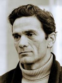 Porträt Pier Paolo Pasolini.