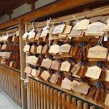 the Yasukuni Shrine in Chiyoda, Tokyo in Chiyoda, Tokyo, Japan