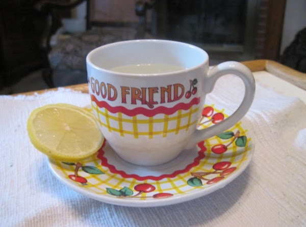 Lemon Sore Throat Tea Recipe