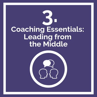 Course Logo Coaching Essentials Leading from the Middle