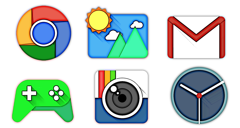 Draft - Icon Pack- tangkapan layar