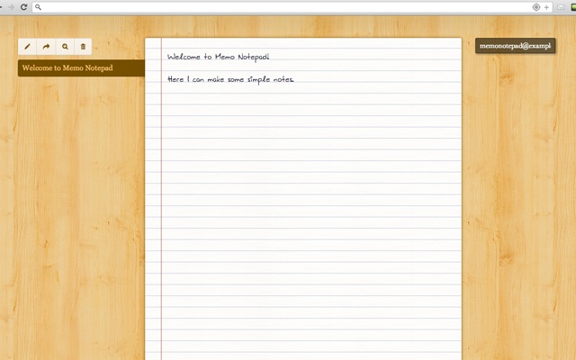 Memo Notepad Screenshot