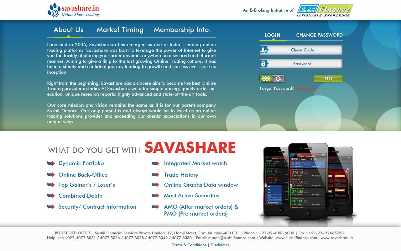 Savashare- screenshot