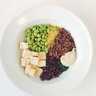 Tofu Quinoa Bowl.