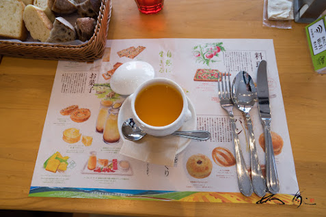 あったかスープ、冬のランチセット