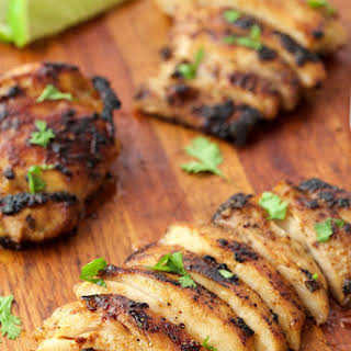 Mexican Honey-Lime Grilled Chicken.
