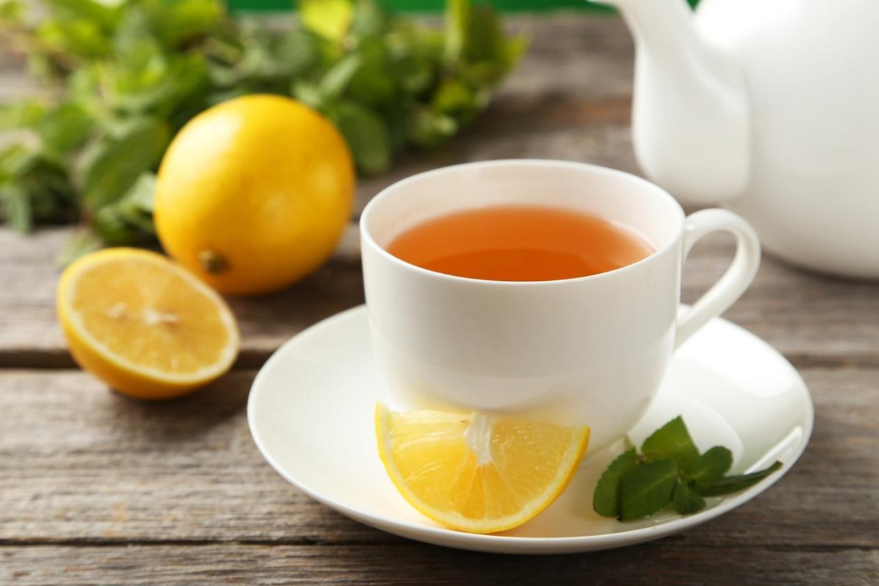 3. Resep Minuman Penangkal Influenza - Lemon Tea