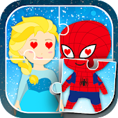 Superhero & Princess Kids Game