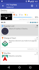 PS Trophies Lite screenshot 2