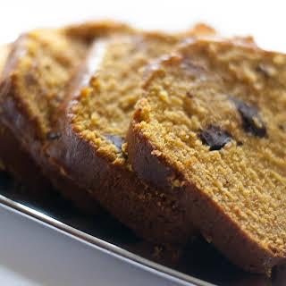 Gluten Free Pumpkin Bread.