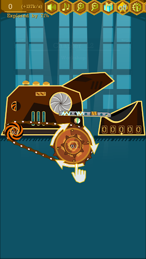Idle Coin Factory: Incredible Steampunk Machines apkdebit screenshots 1