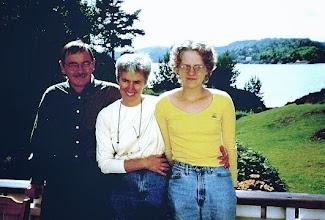 Photo: Me, Julane and Phoebe at Fjebudalen