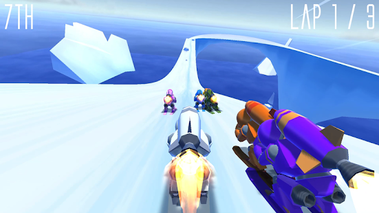 Rocket Ski Racing Screenshot 10