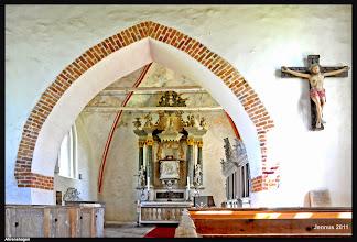 Photo: Dorfkirche in Ahrenshagen aus dem 13. Jhdt.