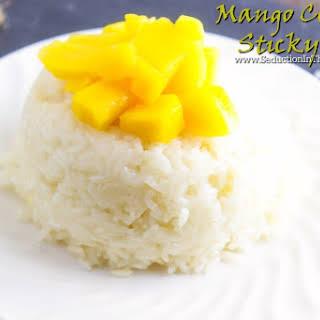 Mango Coconut Sticky Rice.