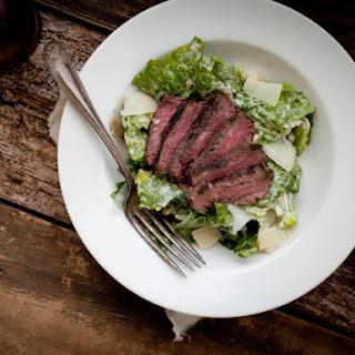 Grilled Steak Caesar Salad.