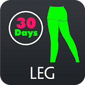 30 Day Leg Fitness Challenges