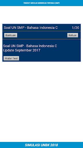UNBK SMP 2018 (Ujian Nasional) 1.2 screenshots 4