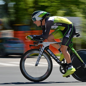 Time trial by Bostjan Pulko - Sports & Fitness Cycling ( cycling, time trial )