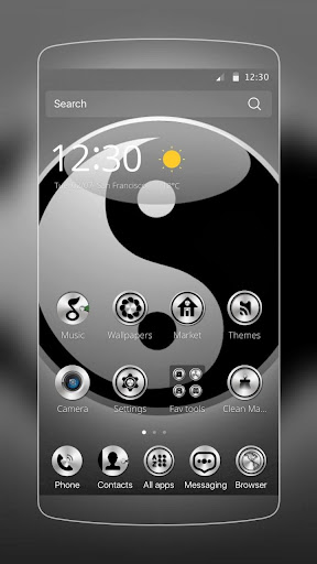 Yin yang chi theme for PC
