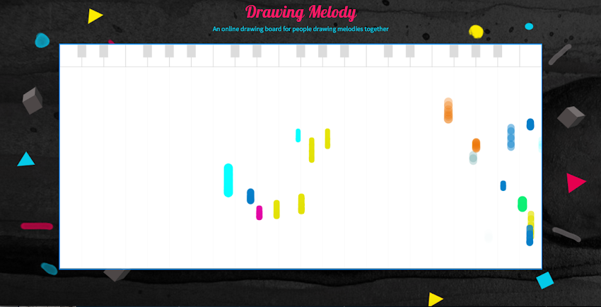 Drawing Melody By Manxue Wang Experiments With Google