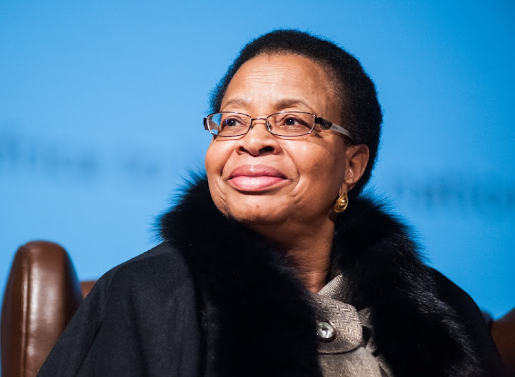 Graca Machel. Picture: SUNDAY TIMES