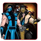 How to Draw Mortal Kombat 1 icon