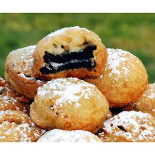 Deep Fried Oreo Cookies.