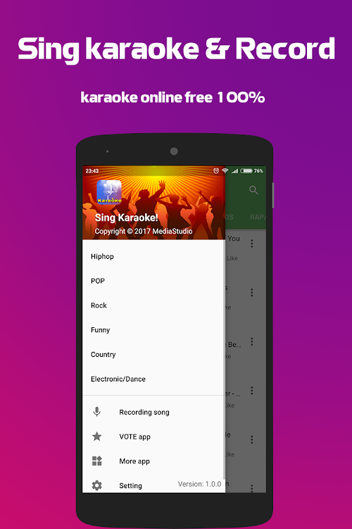 Sing Karaoke - Record 2018 – (Android Apps) — AppAgg