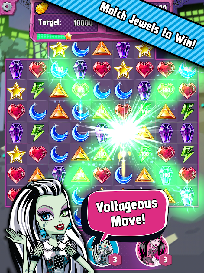 Monster High Ghouls and Jewels- screenshot