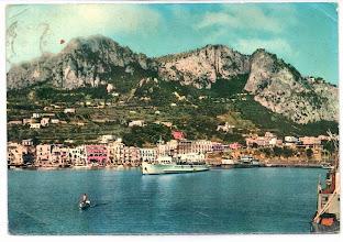 Photo: Capri - Marina Grande Casa del Giornale - Napoli