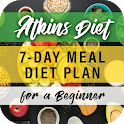 Atkins Diet: 7-Day Meal Diet Plan for a Beginner icon