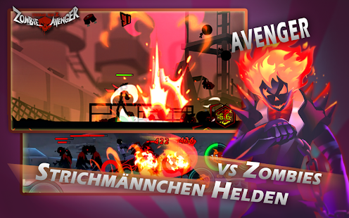 Zombie Avengers-(Dreamsky) Stickman War Z Screenshot