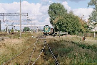 Photo: SM42-569 na manewrach w systemie bocznic w okolicy Elany {Toruń Wschodni; 2003-09-24}