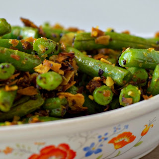 Indian Spiced Green Beans.