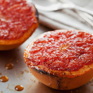 Broiled Grapefruit with Cinnamon.