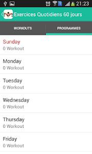 Exercices Quotidiens 90 jours screenshot 3