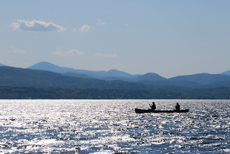 Photo: Canoeing at Button Bay State Park by Linda Carlsen-Sperry.