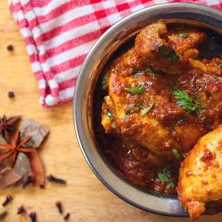 Keto Chicken Korma.