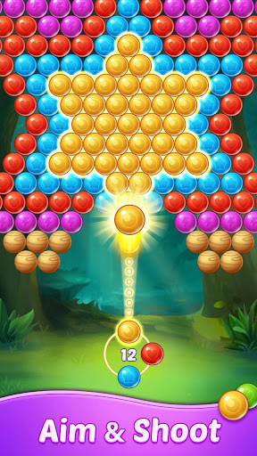 Bubble Shooter Pop-Blast Bubble Star apkbreak screenshots 1