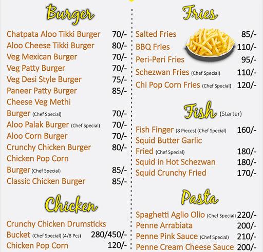 Food Style menu 6