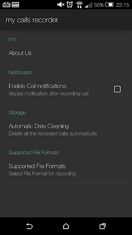 android Save My Call: Free recorder Screenshot 0